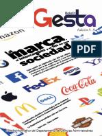 Boletín Gesta Edición No 11 - Boletín del Departamento de Ciencias Administrativas del ITM