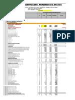 Presupuesto Analitico Salon Multiuso Nuevo Lince 04-04-2017