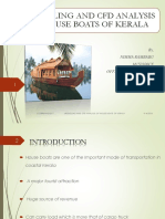 MODELLING AND CFD ANALYSIS OF HOUSE BOATS OF KERALA.pptx