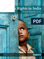 Human Rights in India Status Report 2012
