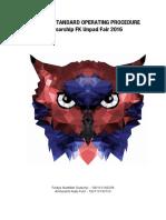 Guideline SOP FKUF 2017