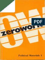 Zerowork #1