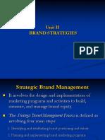 Startegic Brand Management Process