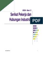 13 Serikat Pekerja Dan Hubungan Industrial3