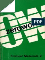 Zerowork #2