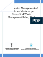 Guidelines Healthcare for Bio Medical Waste Management June 2016