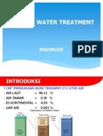 WTP Pengolahan Air Umpan Boiler