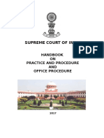 Supreme Court Procedure and Office Procedure 2017 (FINAL)