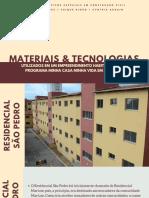 Materiais e Tecnologias