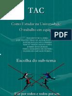 TAC apresentação PP