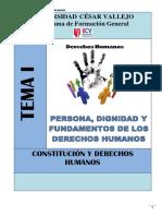 Módul0 1 - Persona Dignidad y Fundamentos