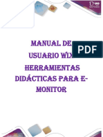 Manual Del Usuario Wix