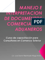 Curso Sobre Documentos Comerciales y Aduaneros_cecap 2011