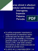 Examinarea Clinică in Afecţiuni Cardiace