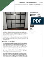 Shoji Style Sliding Closet Doors, From Scratch