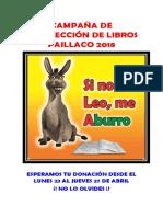 Campaña de Recolección de Libros Paillaco 2018