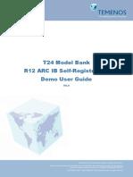 R12 Model Bank ARC IB Self Registration Demo User Guide