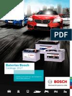 Catalogo Baterias BOSCH 2017