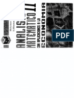 Analisis Matematico II Con Aplic. a La Economia DiCaro