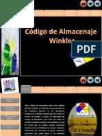 CÓDIGO DE ALMACENAJE WINKLER PARA LOS INSUMOS QUÍMICOS
