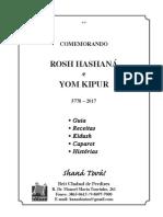 A Gradne Festa - Rosh Hashaná