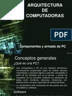 Componentes y Armado de PC