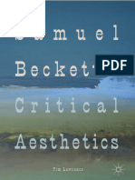 Samuel Beckett's Critical Aesth - Tim Lawrence
