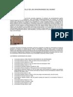 Historia de La Educación Superior y su desarrollo en el Ecuador.