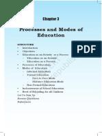 Modes of Edu