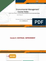EMSE IEM Course Notes 9