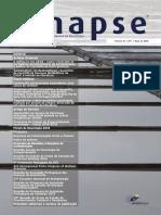 Sinapse Vol 15 n 1 Maio 2015