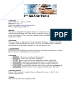 tech7 syllabus 2018
