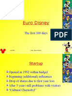 euro disney case Euro disney had a very hard initial experience in france there were various errors made in the operations of euro disneyland, which affected the french culture an example of this is the walt disney company's policy of serving no alcohol in its parks in california, florida, and tokyo, which it.