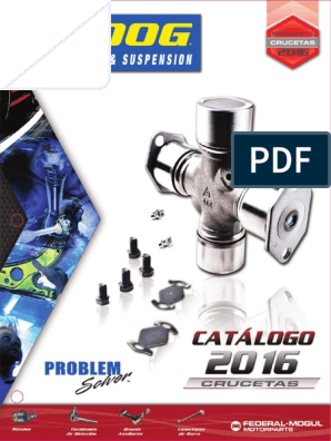 MOOG-2016-Crucetas pdf | Evasiva | Chevrolet