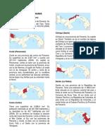 9 Provincias de Panama