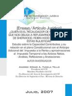 Estudio sobre la Capacidad Contributiva en el AAIR e ITAN - Andree Tudela