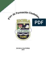 Plan de Formacion Ciudadana 20182