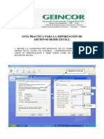 6.- Manejo de Estacion Total Topcon Importacion de Archivos Desde Excel