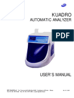 KEYLAB Discrete Random Access Analyser User Manual