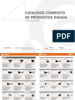 Catalogo de camaras Dahua
