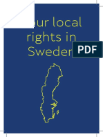 Your local rights in Sweden