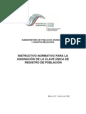 Instructivonormativo Pdf México Red Mundial