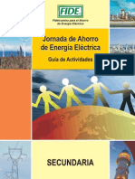 guia_secundaria Fideicomiso para el ahorro de energia Electrica (FIDE)