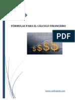 Fórmulas de Cálculo Financiero.- CEDICAPED