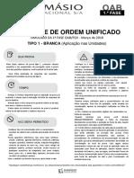 #Simulado - 1ª Fase OAB - XXV Exame de Ordem Unificado (2018) - Damásio