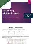 Matrices y determinantes UnADM.ppt