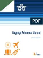 IATA Baggage Reference Manual 2018
