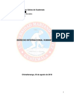 Derecho Internacional Humanitario Temas Editado