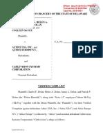 Dolan et al. v. Altice USA Inc. et al. - Verified Complaint