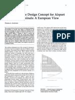 Level of Service Design Concept for Airport Passenger Terminals